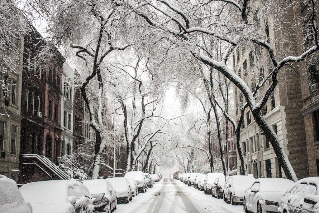 Elektroroller Winter